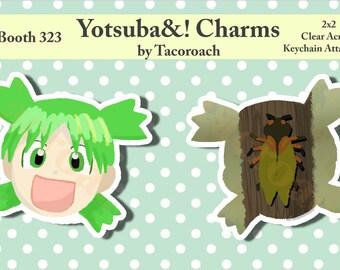 Yotsuba! - Double-Sided, Clear, Acrylic Charm