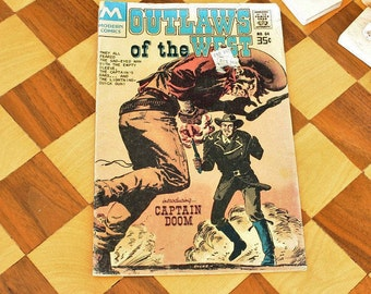 Vintage Modern Comic Book Outlaws of the West No. 64
