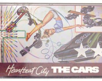 Vintage 80s The Cars Heartbeat City New Wave Album Cassette Tape