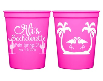 Bachelorette Cups, Bachelorette Party Cups, Personalized Cups, Bachelorette Tumbler, Bridal Party Cups, Bachelorette Gift, Plastic Cups
