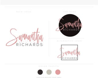 makeup artist 1  branding initials businesscards text modern feminine branding logo Identity watermark calligraphy and wedding photographer