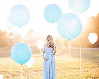 """Round Balloons, Giant Round Balloon, Pearl Pastel 30"""" Round Balloon, Photo Prop, Party Balloons, Geronimo Balloons, Tassel Balloon"""
