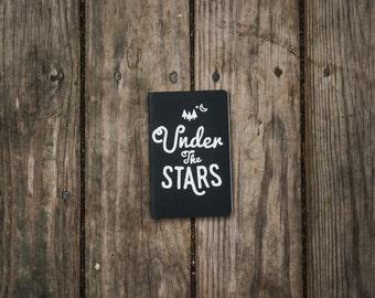 Under The Stars Moleskine Notebook - Wild Creatives