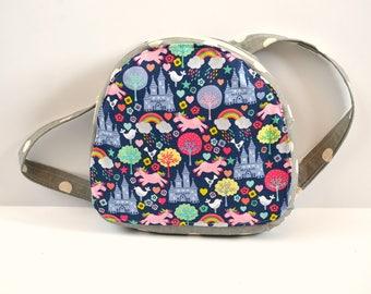 UNICORN RAINBOW - Toddler Backpack, Zipper Backpack, Toddler Bag, Small Backpack, School Backpack, Childs Backpack, Backpack Diaper bag