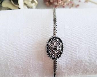 Vintage button bracelet vintage Chanel