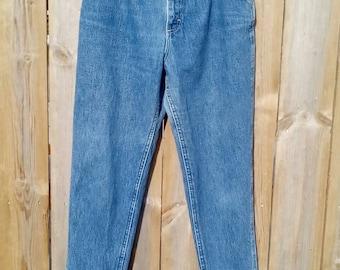 1990's Acid Wash High Waisted Lee Jeans Size 1/2