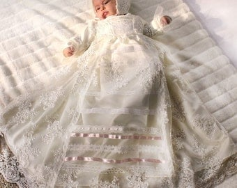 Replica of the Royal Russian Christening Gown from  Great Princess Anastasia Romanow