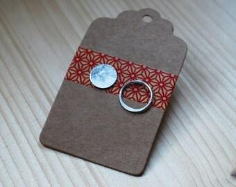 Irregular silver circle earrings, circle pins, circle studs, sterling silver modern minimalist earrings, minimal, minimalist, modern