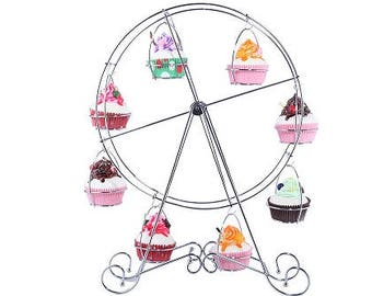 Ferris Wheel Cupcake Display Stand Wedding Birthday Baby Shower Circus Party