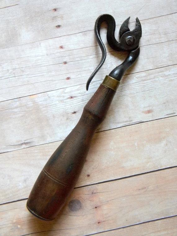 Rare antique victorian era blakeslee patented tack puller
