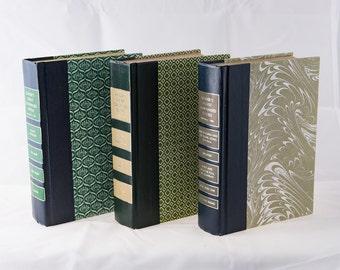 Green Decorative Books, Vintage Reader's Digest Condensed Books