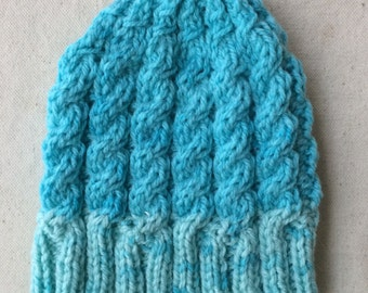 Cable Baby Beanie