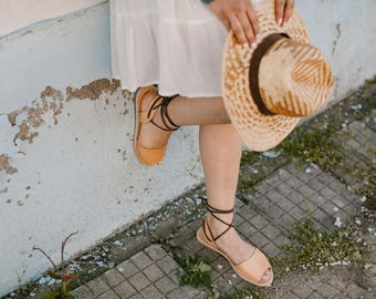 Leather Gladiator Sandals, Tan Sandals, Sandals Gladiator, Leather Sandals Gladiator, Tan Gladiators, Lace Up Sandals, Summer Sandals