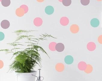 Wall sticker | Pastel Dots