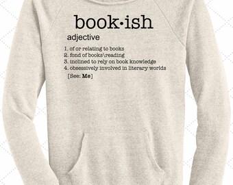 Bookish Sweatshirt // bookworm//booknerd// bibliophile// book love// Reading Shirt