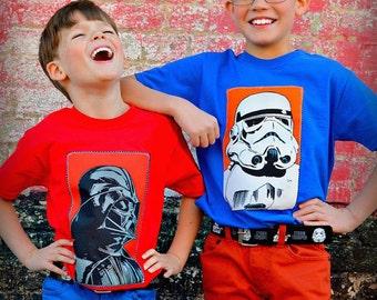 boys Star wars Darth Vador shirt 2T 3T 4T 5T 4/5 6/7 8 10/12 14/16 ready to ship