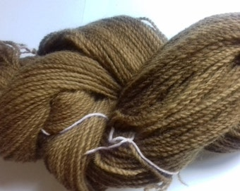 Toto. 100g of naturally hand dyed DK weight yarn