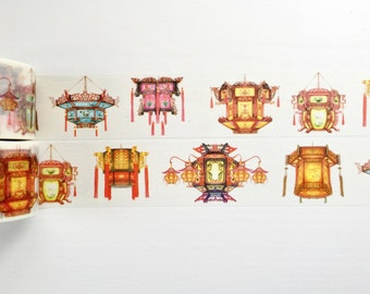 Chinese Lantern Washi Tape 7m