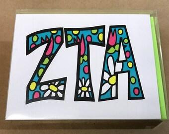 Zeta Tau Alpha Notecards