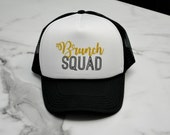 Brunch Squad Morning Bachelorette Hats - Bridal Party Bride to Be