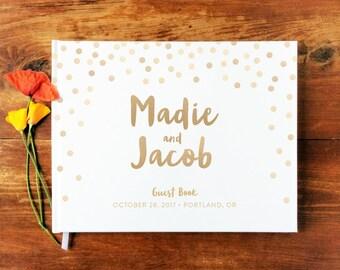 wedding guest book landscape 8 hardcover wedding guestbook wedding guest books custom guest