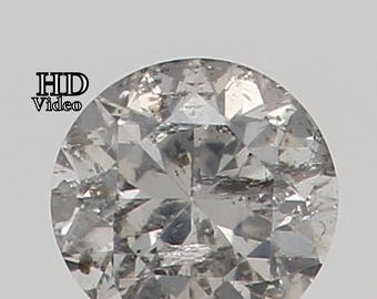 2.50 MM 0.065 Ct Natural Loose Diamond Cut Round fancy White L7538