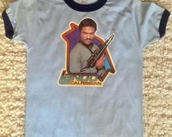 VINTAGE 1990s Star Wars Lando Calrissian Tee