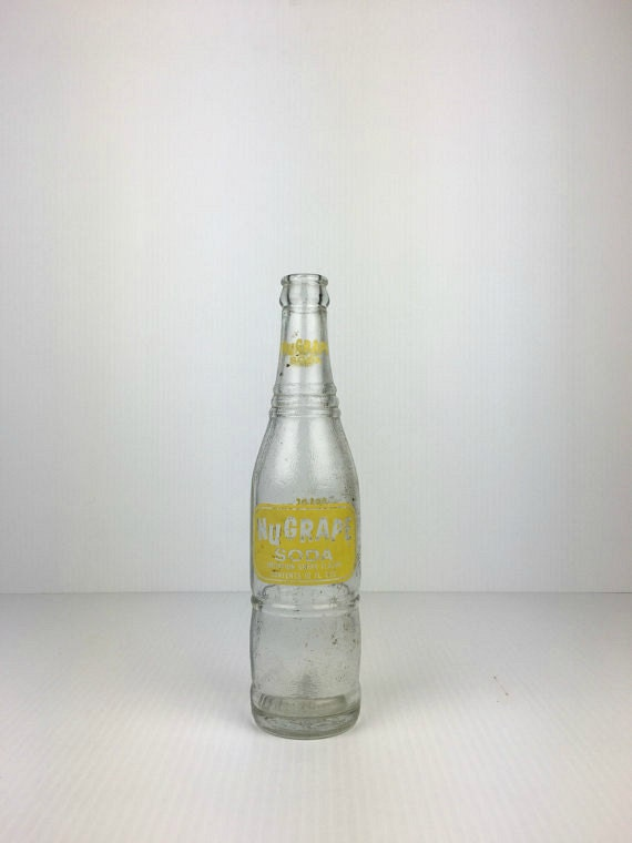 Vintage Nugrape Soda Bottle Vintage Nugrape Soda Bottle Old