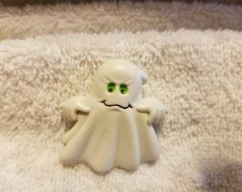 Vintage Plastic Ghost Pin