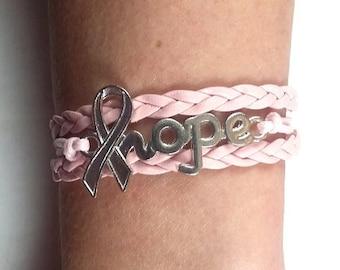 Pink Awareness  Bracelet