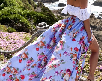 MADE TO ORDER: The Fly Away Maxi Skirt