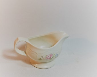 Vintage Pfaltzgraff Tea Rose Gravy Server