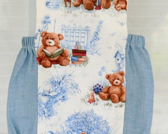 Baby Boy Sunsuit, Romper Bubble, Baby Boy Romper, Custom Boutique Children Clothing, Teddy Bear