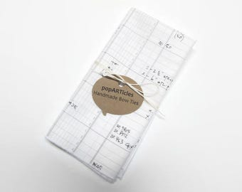 Accounting Pocket Square - Math Pocket Square - Architect Pocket Square - Architect Gift - Accounting Gift - Numbers Pocket Square