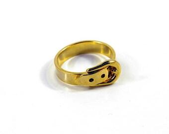 Golden ring belt