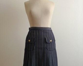 90s C'est comme ça striped mod skirt