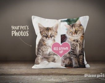 Custom Pet Pillow - Personalized Cat Pillow - Custom Cat Pillow - Custom Pet Pillow - Funny Pet Pillow - Custom Gift - Personalized Gift