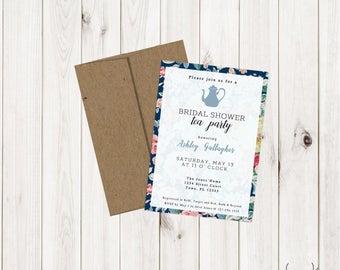 Bridal Tea Shower Invite