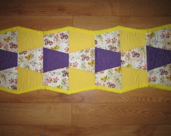 Spriing has sprung table runner