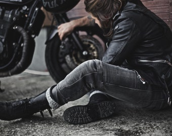 Motorcycle Jeans | Riding Jeans | Biker Jeans | Moto Jeans | Moto Clothes | KARL BLACK