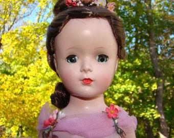 1950s Madame Alexander Margot Ballerina Doll 14 Inch HP Pink Tutu Margaret Face