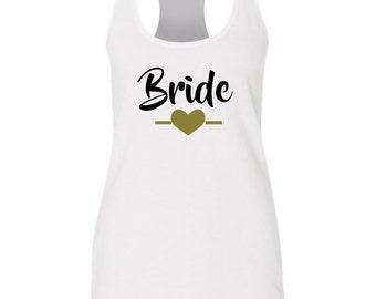 Bride Tank Top, Future Mrs Tank Top, Racer Back Tanktop, Future Mrs Shirt, Bridal Tank Top, Bachelorette Tank Top