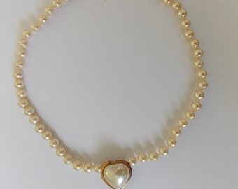 Vintage necklace in fine and Silver 925 beads and vermeil of the 80/90