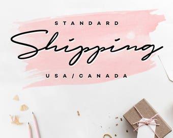 Standard Shipping - USA / CANADA