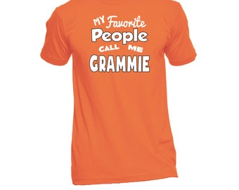 Grammie T-Shirt (Any Name) - Grammie Shirt - Grandma TShirt - Grandma Gift - Grandma To Be - Grandma T Shirt - New Grandma