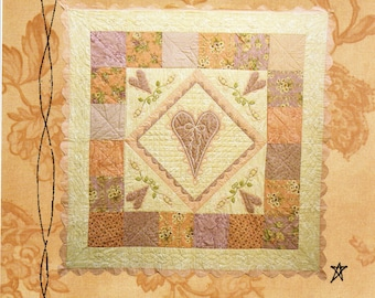 Hearts Desire Quilt Pattern Cabin Fever Designs Robyn Pandolph