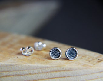 Silver Stud Earrings, Tiny Sterling stud earrings, Simple Silver Stud Earrings, Small Silver Earrings