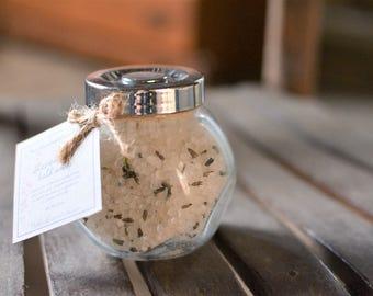 Lavender Bath Soak - with Dried Lavender