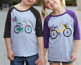 Boy Mardi Gras Shirt - Toddler Mardi Gras Shirt - Mardi Gras Shirt for Girls - Mardi Gras Outfit for Boys - Mardi Gras Brother, Sister Set