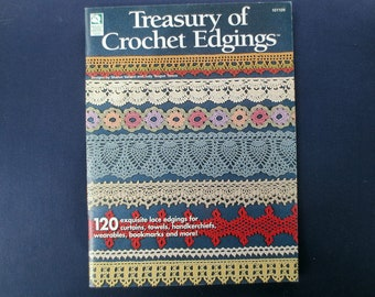 Treasury of Crochet Edgings Booklet, House of White Birches